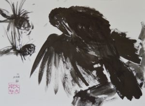 "38. Crow: 9""x12"""